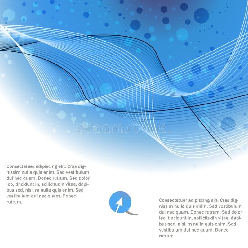 Brochuremalplaatje vector illustratie