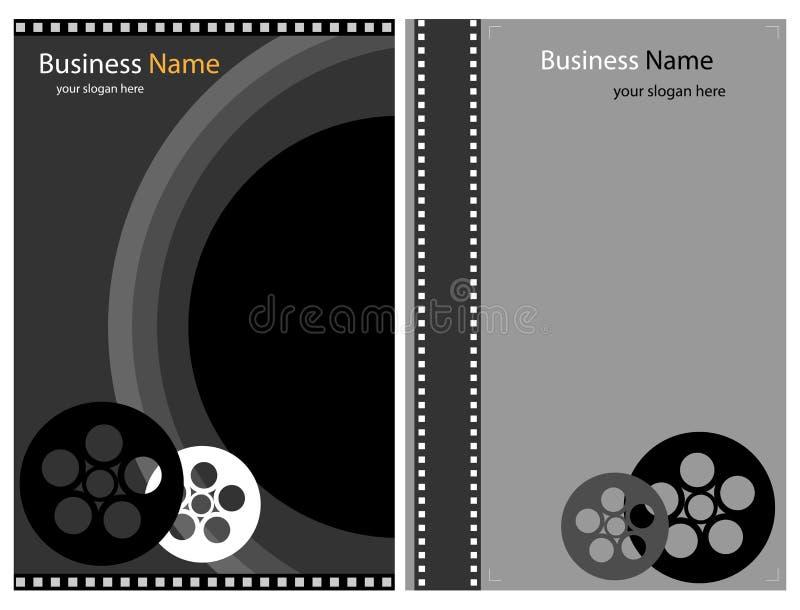 Brochures de photo ou de vidéo illustration libre de droits