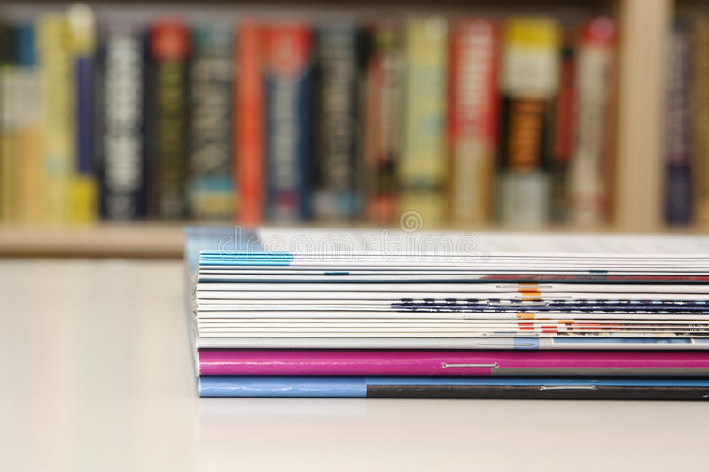 Download Brochures On Table Royalty Free Stock Photos - Image: 21770398