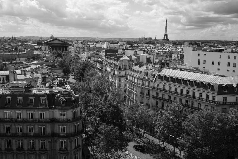 brocityscape över den paris seinen arkivfoton
