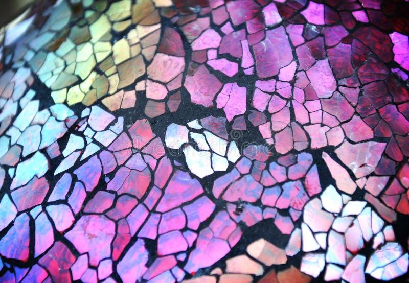 Brocken Cut Glass Texture Background stock images