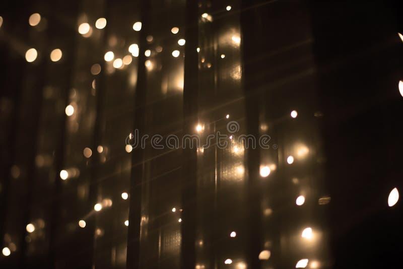 Brocken 5 1 instalación ligera de Yasuhiro Chida en el cuadrado de la república en Praga durante el festival 2016 de la luz de se fotos de archivo libres de regalías