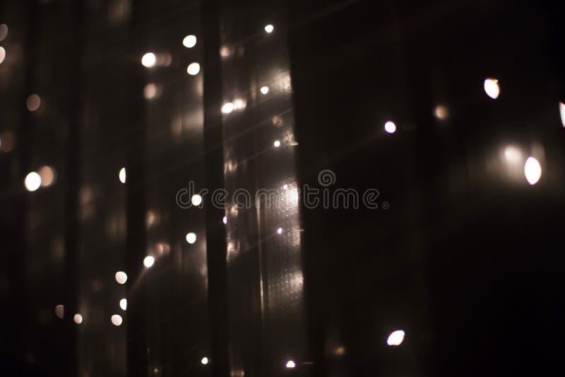 Brocken 5 1 instalación ligera de Yasuhiro Chida en el cuadrado de la república en Praga durante el festival 2016 de la luz de se foto de archivo libre de regalías