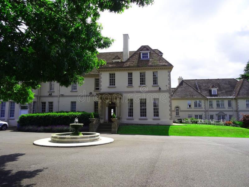 Brockencote Hall Hotel, Worcestershire stock foto