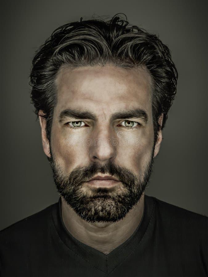 broda mężczyzna obrazy royalty free