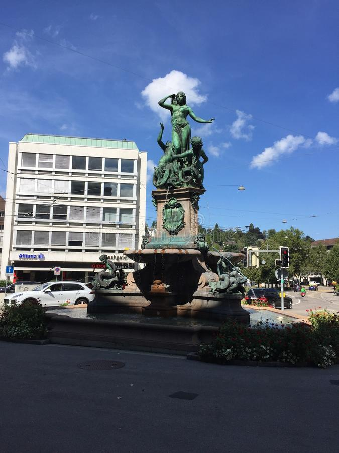 Broder de Fontaine images stock