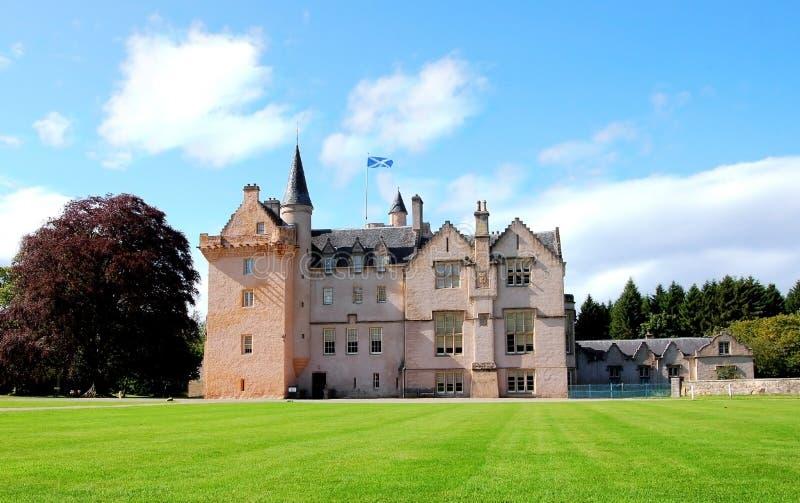 Brodie Schloss, Schottland lizenzfreies stockbild