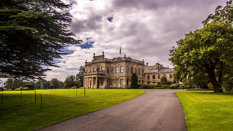 Brodsworth Hall Gardens imagens de stock royalty free