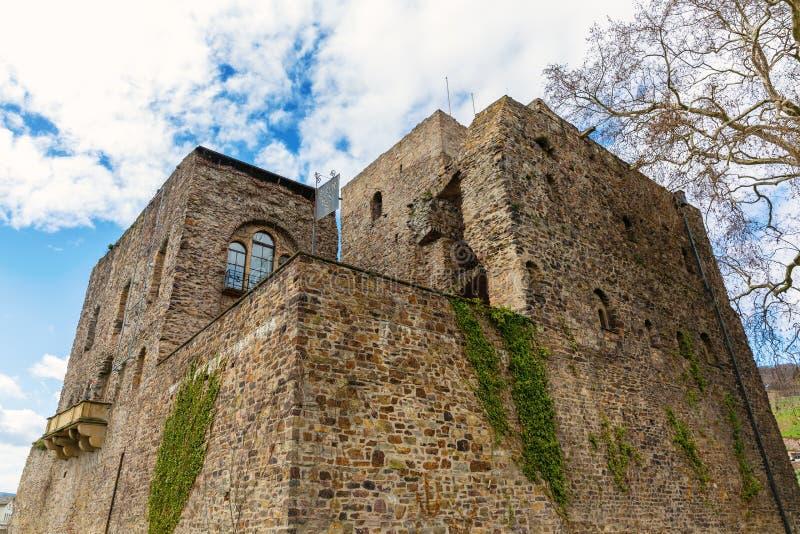 Broemserburg dans Ruedesheim AM Rhein, Allemagne photographie stock