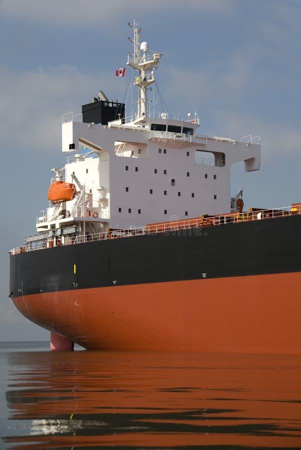 brofraktbåt arkivbild