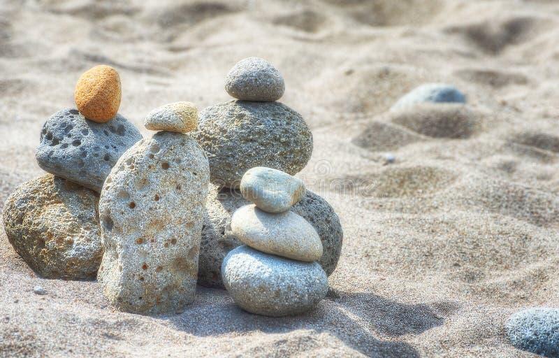 Brogować skały Przy Oxbow parkiem fotografia stock