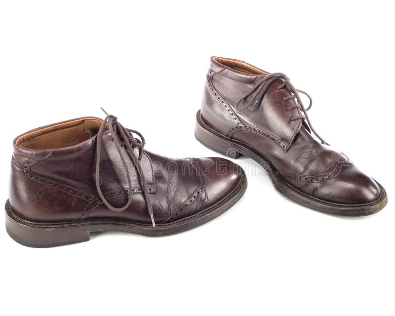 Brogue Ankle Boots immagini stock
