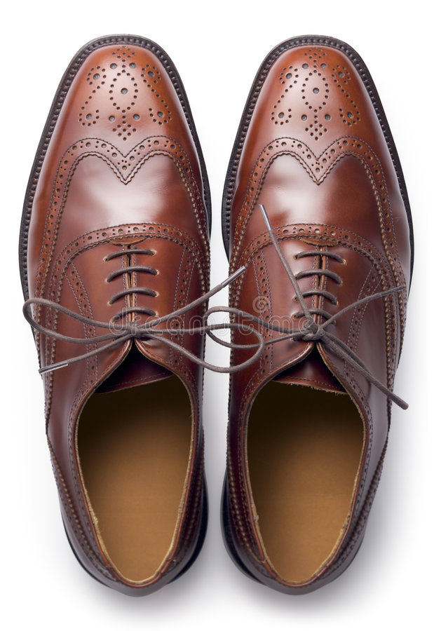 Download Brogues from above stock photo. Image of isolated, crafted - 4774722