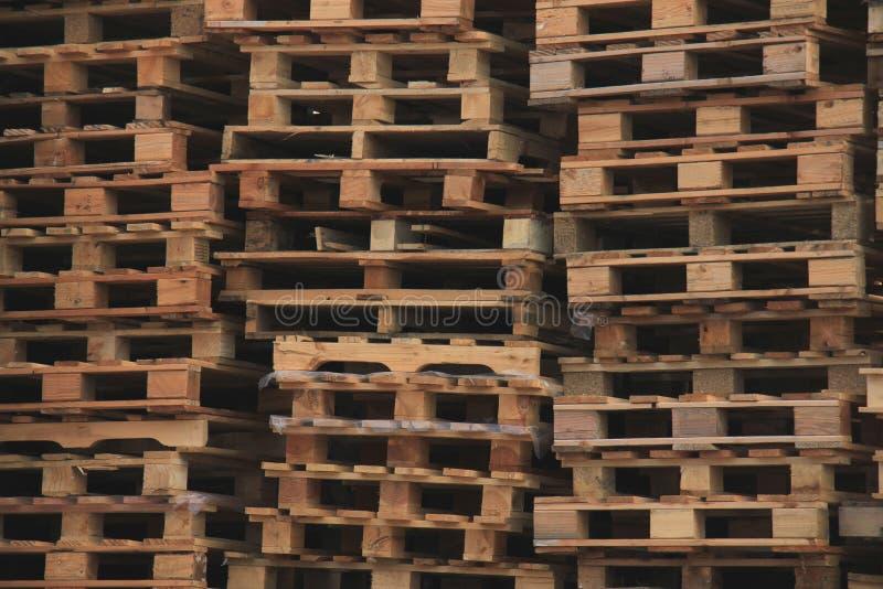 Brogujący Drewniani Barłogi zdjęcie royalty free
