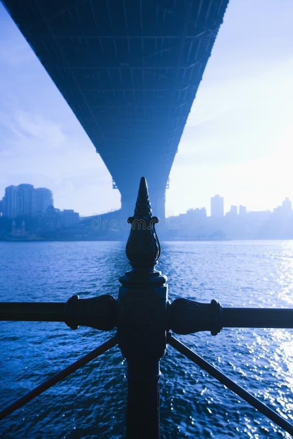 brohamn sydney under royaltyfria foton