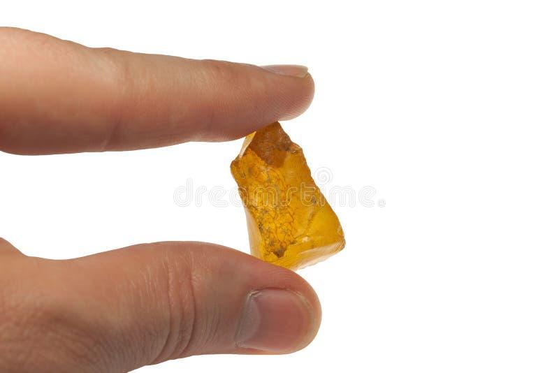 Brok van amber stock afbeelding