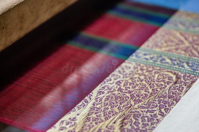 Brokade de seda real foto de archivo libre de regalías