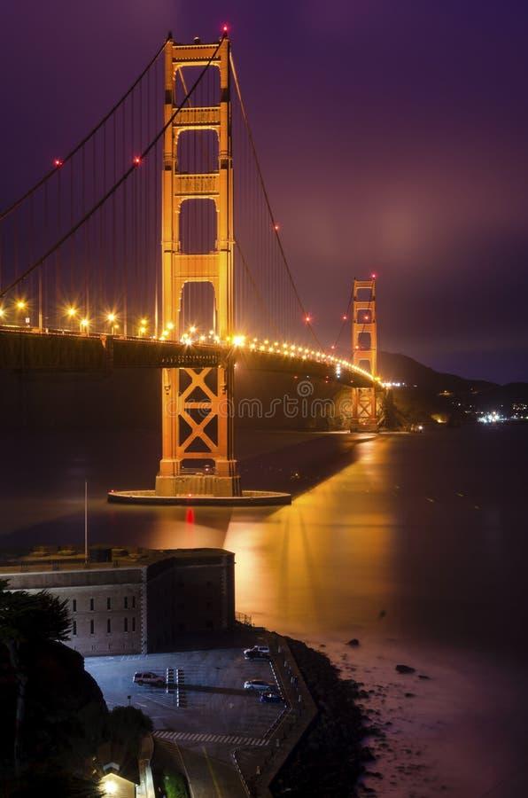 broKalifornien francisco port guld- san fotografering för bildbyråer