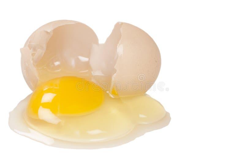 broken ägg royaltyfri bild