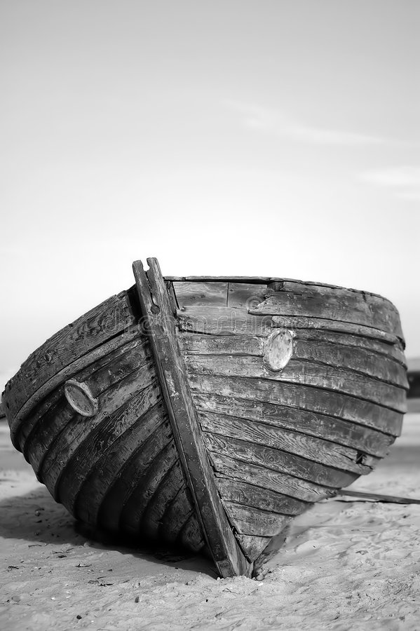 Free Broken Boat Stock Images - 8872734