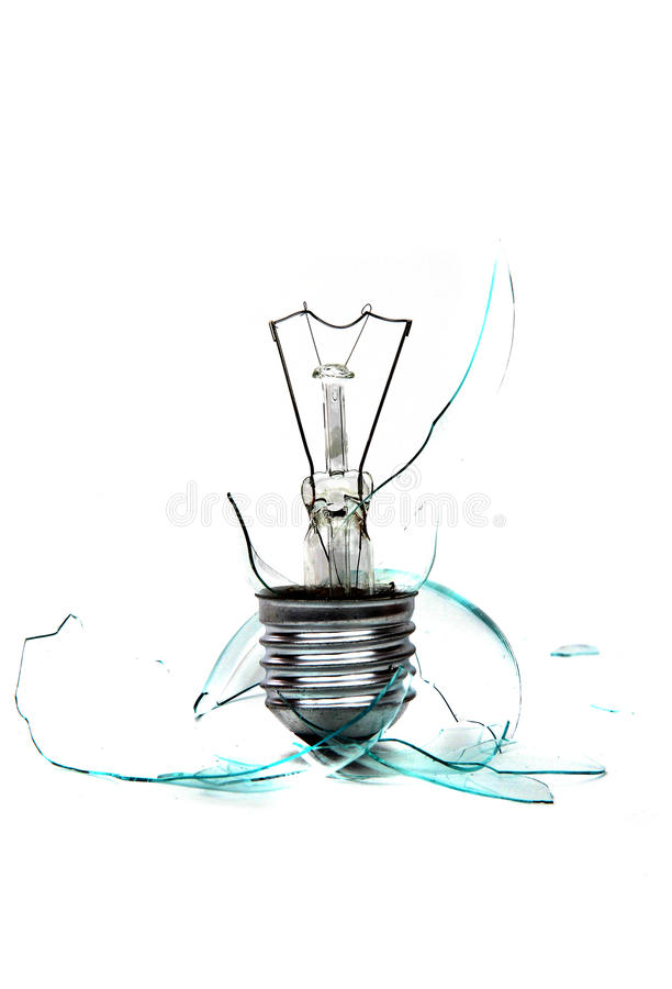 Download Broken bulb stock photo. Image of light, fragment, down - 21761810