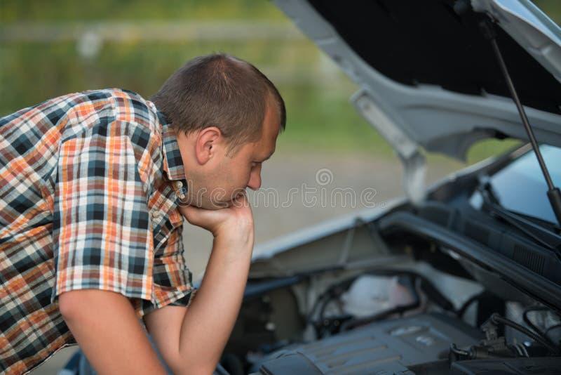 Download Broken car stock photo. Image of machine, problems, hood - 28780126