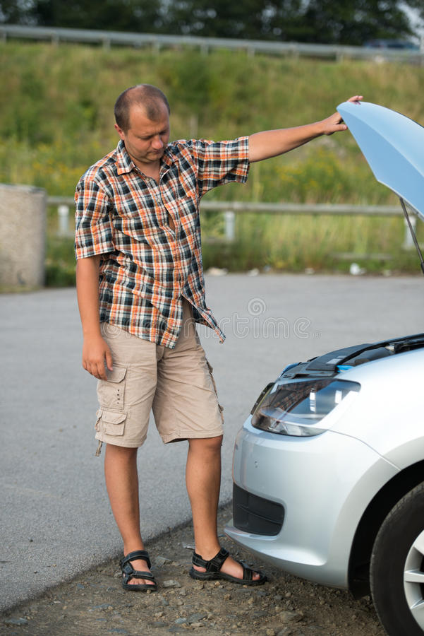 Download Broken car stock image. Image of disaster, damaged, wheel - 28782189