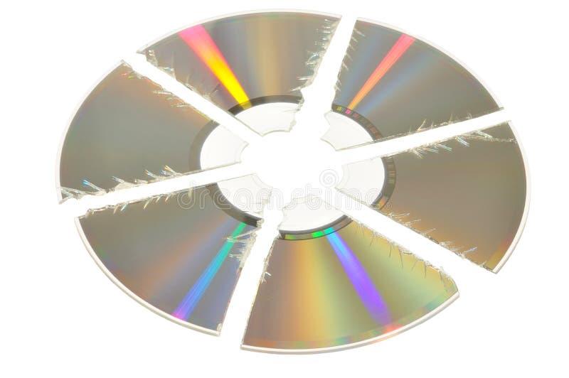 Download Broken CD Stock Photo - Image: 11252120