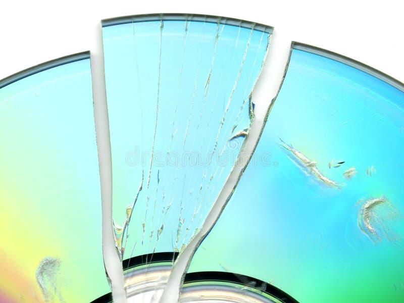 Broken CD / DVD Stock Photos