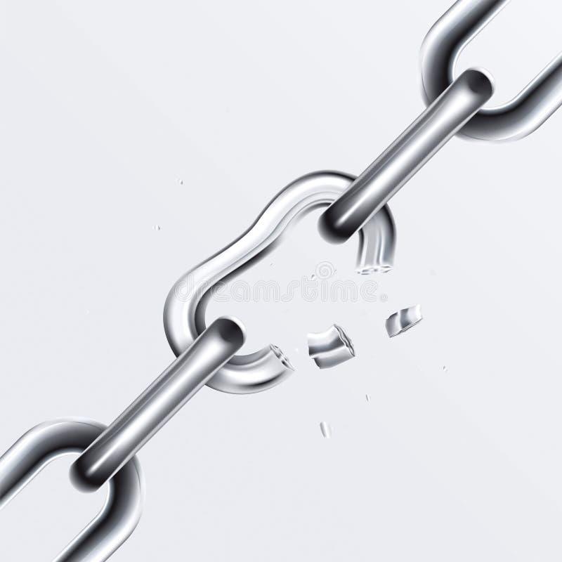 Free Broken Chain Set 1 Stock Photos - 15050013