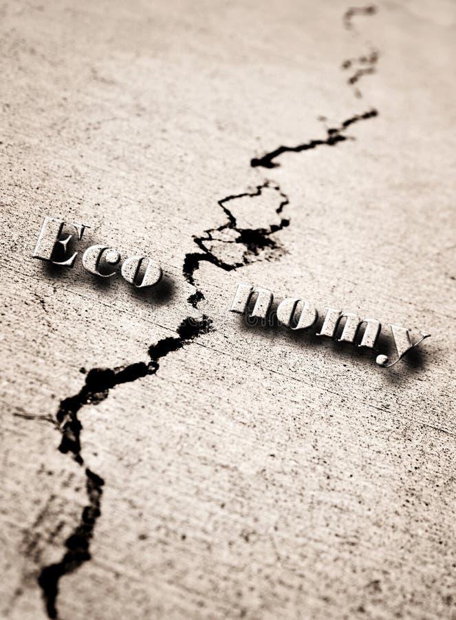 Download Broken or Cracked Economy stock photo. Image of crack - 26542890