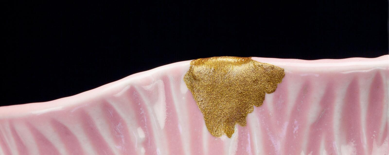 Kintsugi Colors Pink royalty free stock photos