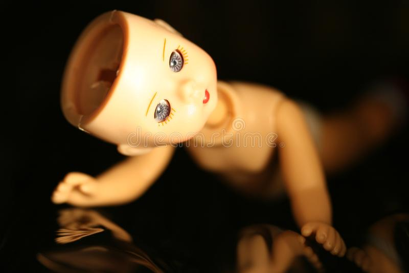 Broken Doll royalty free stock photos