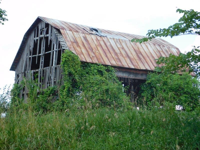 Broken down barn stock images