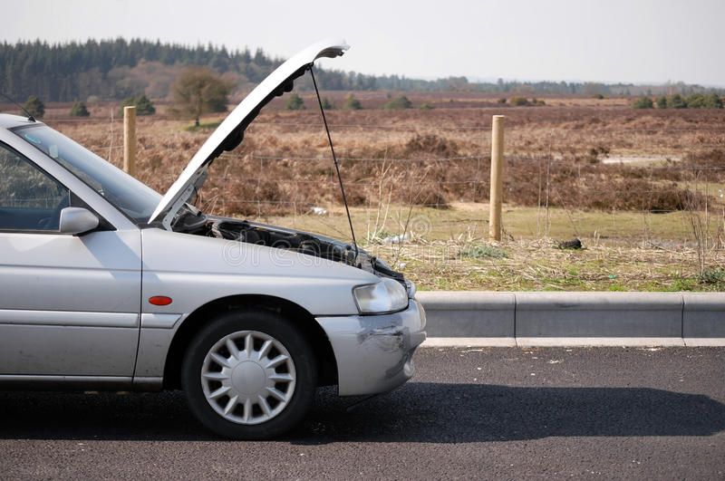 Download Broken down car stock image. Image of breakdown, down - 14253523