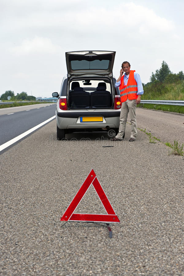 Download Broken down car stock image. Image of reflective, vehicle - 20507759