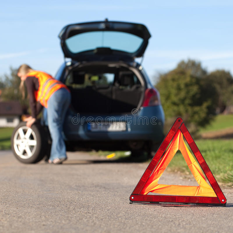 Download Broken down car stock photo. Image of down, service, automobile - 27944442