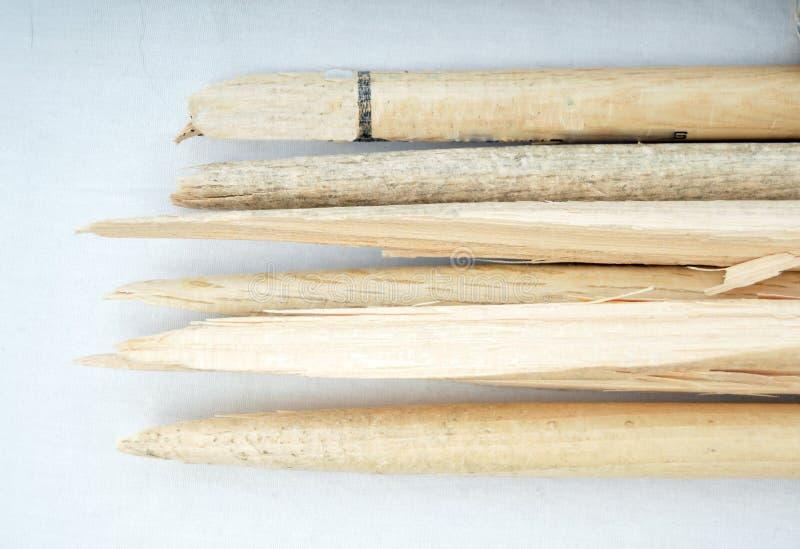 Broken drum sticks