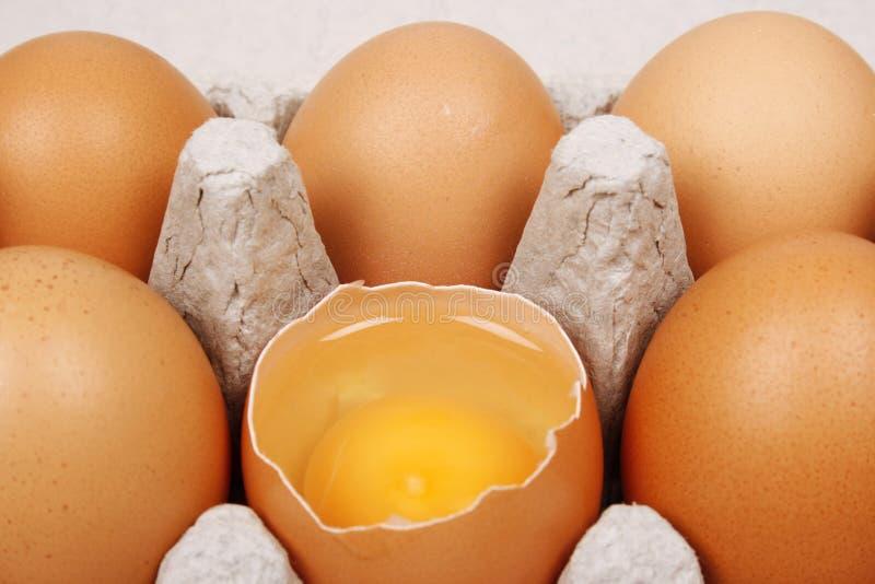 Download Broken egg stock image. Image of breakfast, market, groceries - 14858065