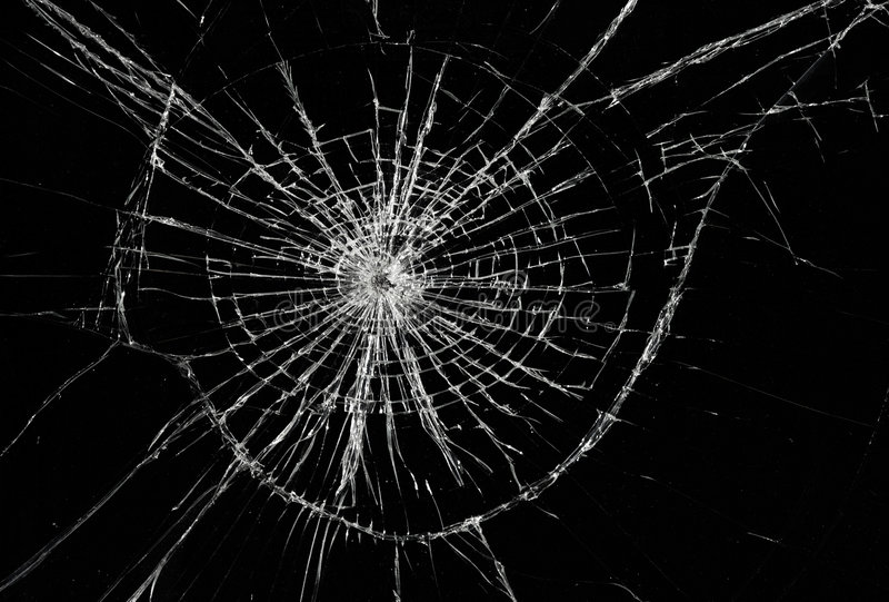 broken fönster