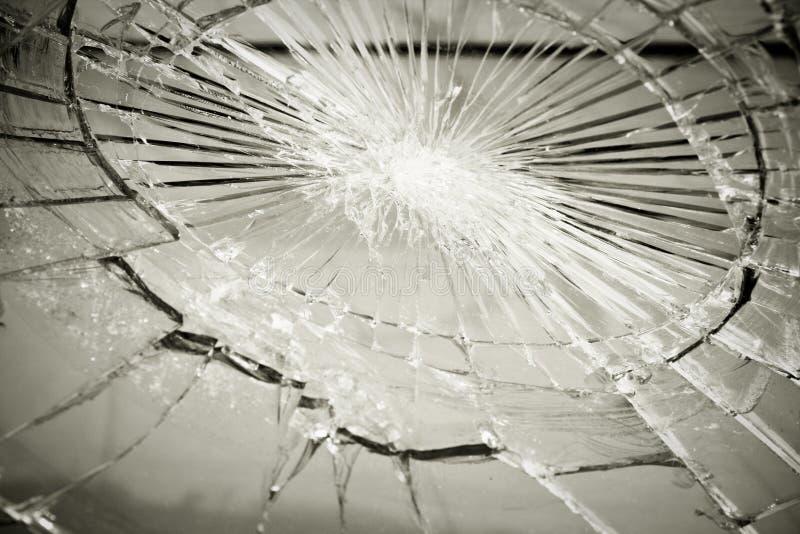 Broken glass stock photography
