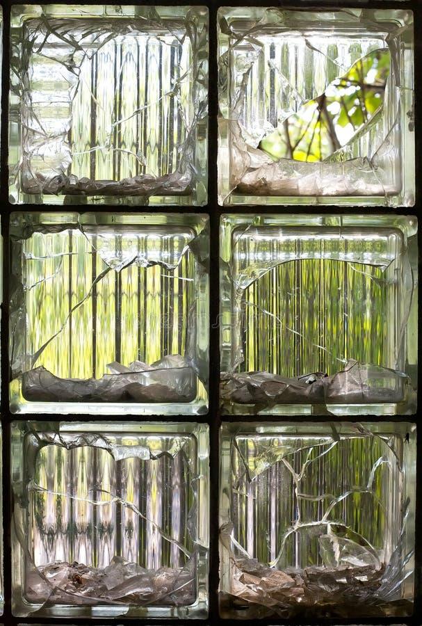Download Broken Glass stock photo. Image of vandalism, cubes, ruined - 27090158