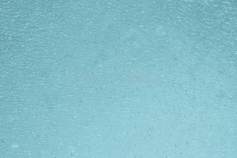 Broken glass or cracked texture and background stock images