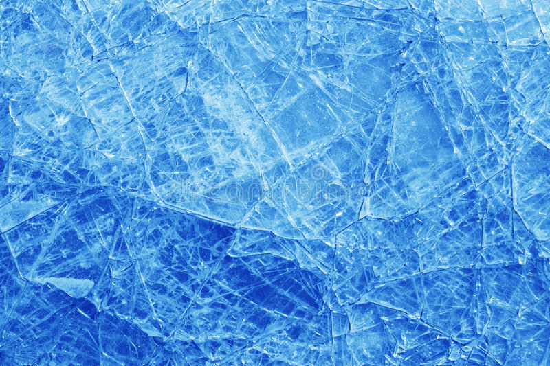Broken Glass Texture Background Royalty Free Stock Photography