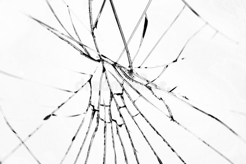 Broken glass royalty free stock photos