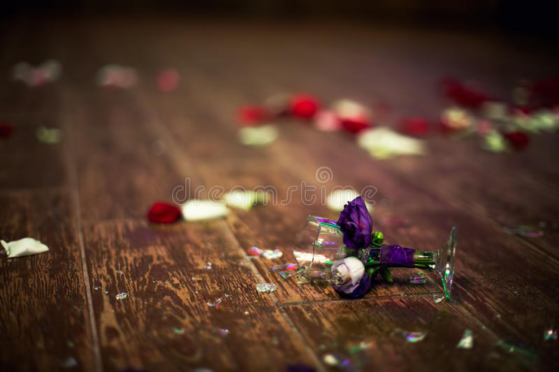 Download Broken Glass During Wedding, Tradition For Bad Luck Stock Image - Image of fizz, cracked: 33103975