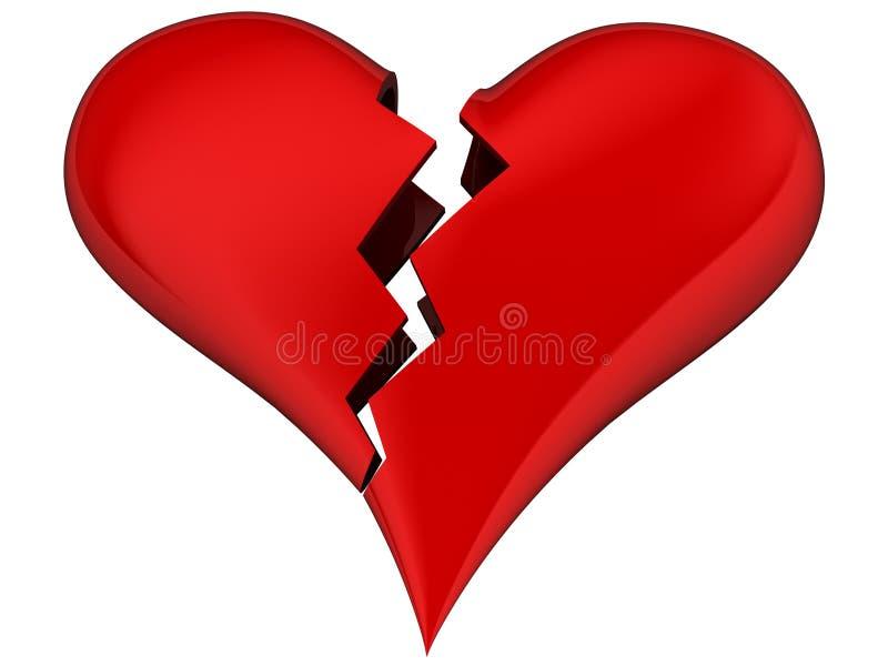 Download Broken Heart Stock Image - Image: 1029291