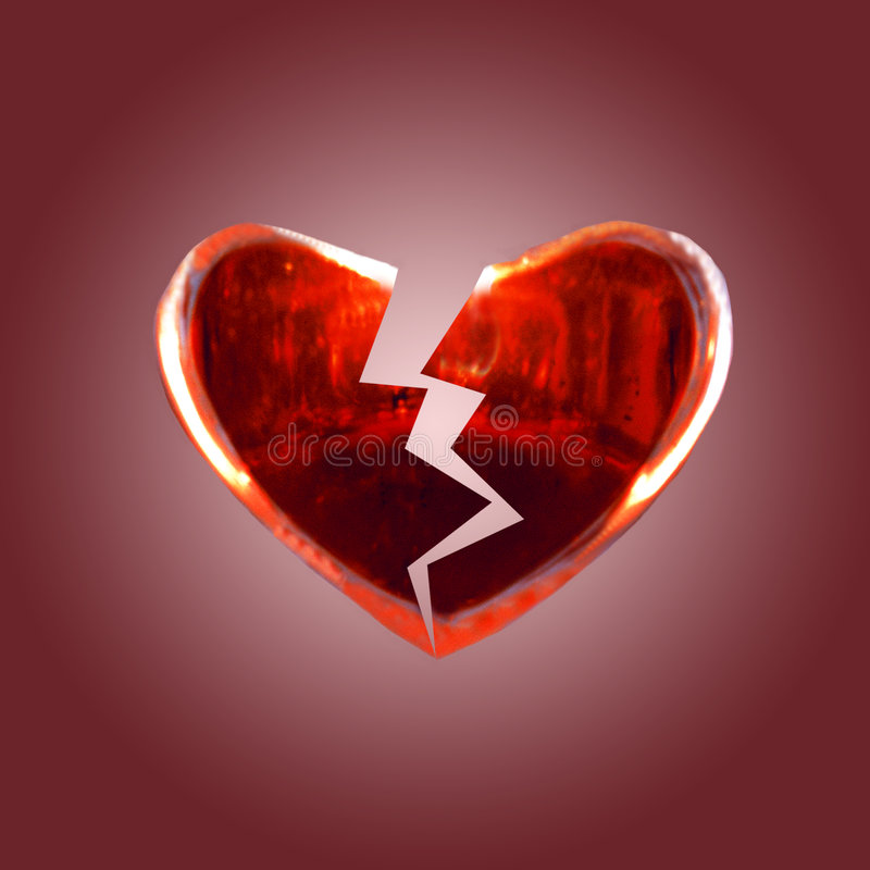 Download Broken Heart stock image. Image of romance, lovers, object - 112061