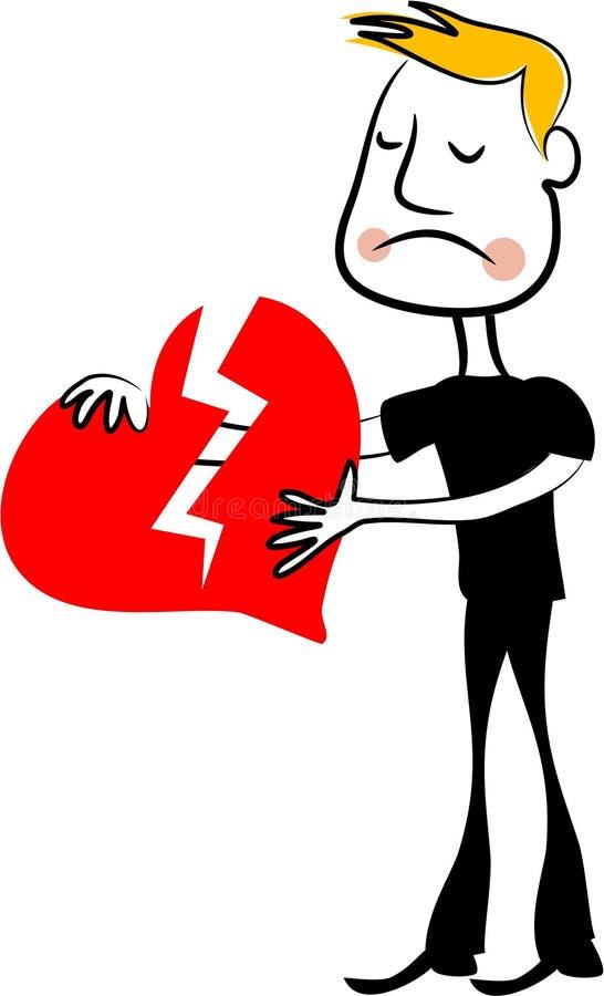 Download Broken Heart stock vector. Image of dumped, heart, concept - 120014