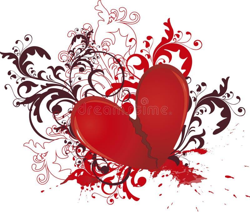 Download Broken heart stock illustration. Image of celebration - 13372169